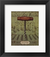 Antique Corkscrew I Framed Print