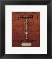 Antique Corkscrew II Framed Print