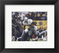 Framed Emmitt Smith All-Time Rushing Yard Leader - #1 Action
