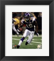 Framed Percy Harvin 2010 Action