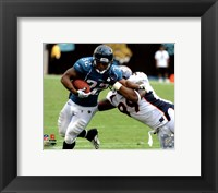 Framed Maurice Jones-Drew 2010 Action