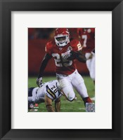 Framed Jamaal Charles 2010 Action