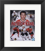 Framed Patrick Kane 2010 Portrait Plus