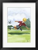 Kickin it I Framed Print