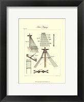 Nautical Details II Framed Print