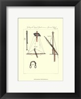 Nautical Details V Framed Print