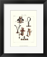 Nautical Details VI Framed Print