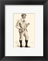 Framed Vanity Fair Golfers I