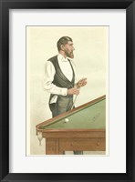 Framed Vanity Fair Billiards
