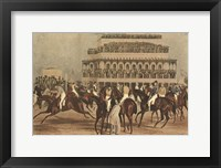 Framed Grand Steeple Chase I