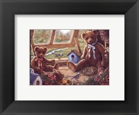 Garden House Tenants Framed Print