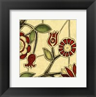 Framed Small Floral Mosaic II