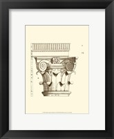 Framed Small Corinthian Detail I (U)