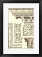 Framed Small Corinthian Detail VI (U)