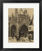Framed Small Ornate Facade I