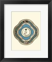 Framed Sevres Porcelain II