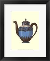 Framed Sevres Porcelain III