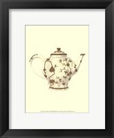 Framed Sevres Porcelain V
