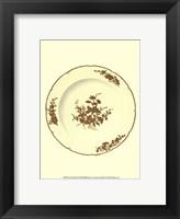 Framed Sevres Porcelain VII