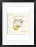 French Pottery III Framed Print