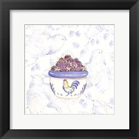 Toile & Berries II Framed Print