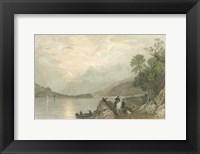 Framed Pastoral Riverscape III