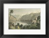 Framed Pastoral Riverscape V