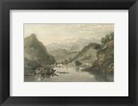 Framed Pastoral Riverscape VI