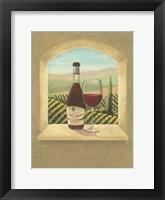 Framed Vineyard Vista I