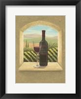 Framed Vineyard Vista II