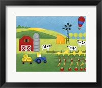 Framed Storybook Farm