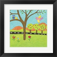 Far and Away III Framed Print