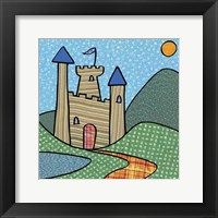 Calico Kingdom I Framed Print