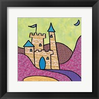 Calico Kingdom III Framed Print
