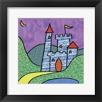 Calico Kingdom IV Framed Print