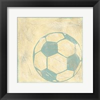 Soccer Rules Framed Print