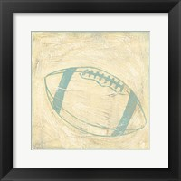 Football Rules Framed Print