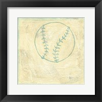 Baseball Rules Framed Print