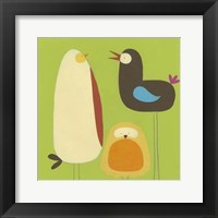 Feathered Friends II Framed Print