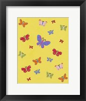 Framed Busy Butterfly