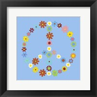 Framed Peace Collection I