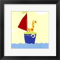 Framed Sailboat Adventure I