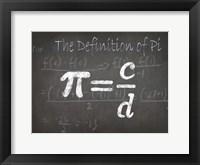 Mathematical Elements I Framed Print