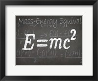 Mathematical Elements III Framed Print