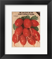 Heirloom Variety I Framed Print