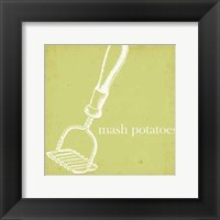Cottage Kitchen II Framed Print