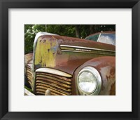 Framed Small Rusty Hudson II