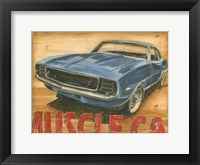 Framed Vintage Muscle II