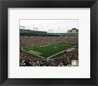 Framed Lambeau Field 2010