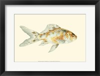 Framed Speckled Goldfish